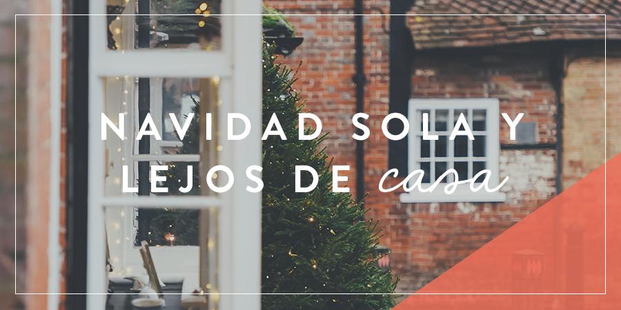 Navidad Sola Y Lejos De Casa Joven Verdadera Blog Aviva