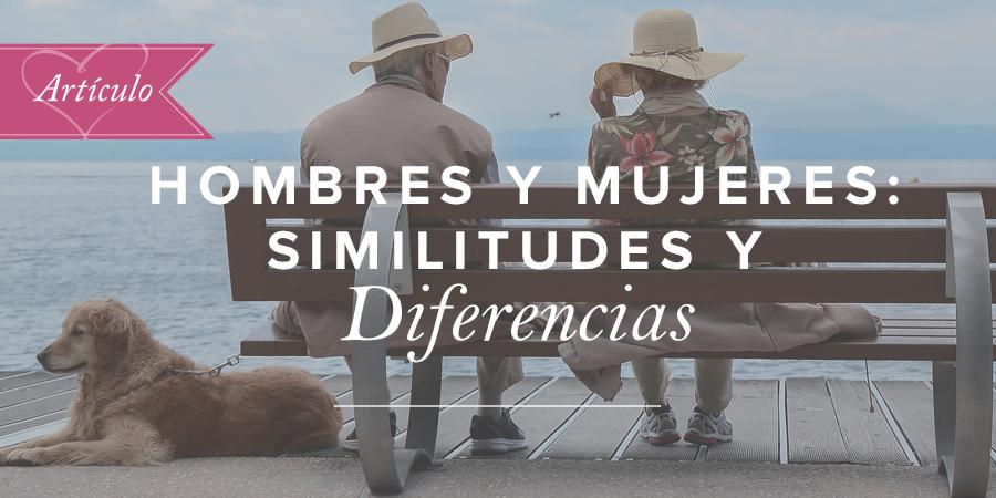 Hombres Y Mujeres Similitudes Y Diferencias Art 237 Culos