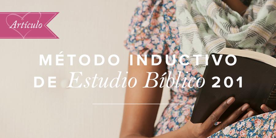 Método Inductivo De Estudio Bíblico 201 Artículos Aviva